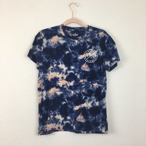Hollister Tie Dye Graphic T-shirt Size Small